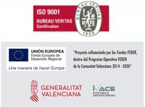 Logos BDI ISO y GVA