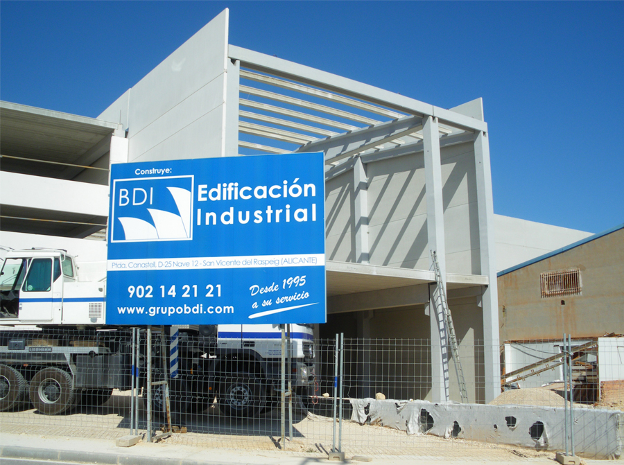 edificacion industrial grupo bdi