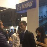 Construmat fue una buena oportunidad para visitar a proveedores de Grupo BDI como Mapei