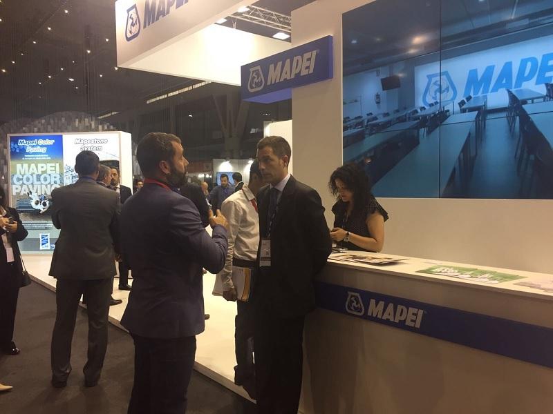 Grupo BDI aprovechó Construmat para ponerse al tanto de las novedades de algunos proveedores, como Mapei