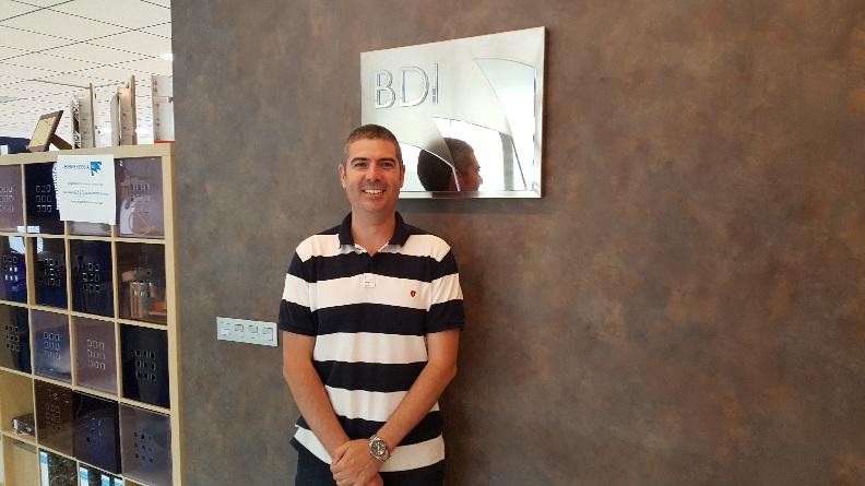 Retrato de Eduardo Ruiz, nuevo Jefe de Obra de Grupo BDI