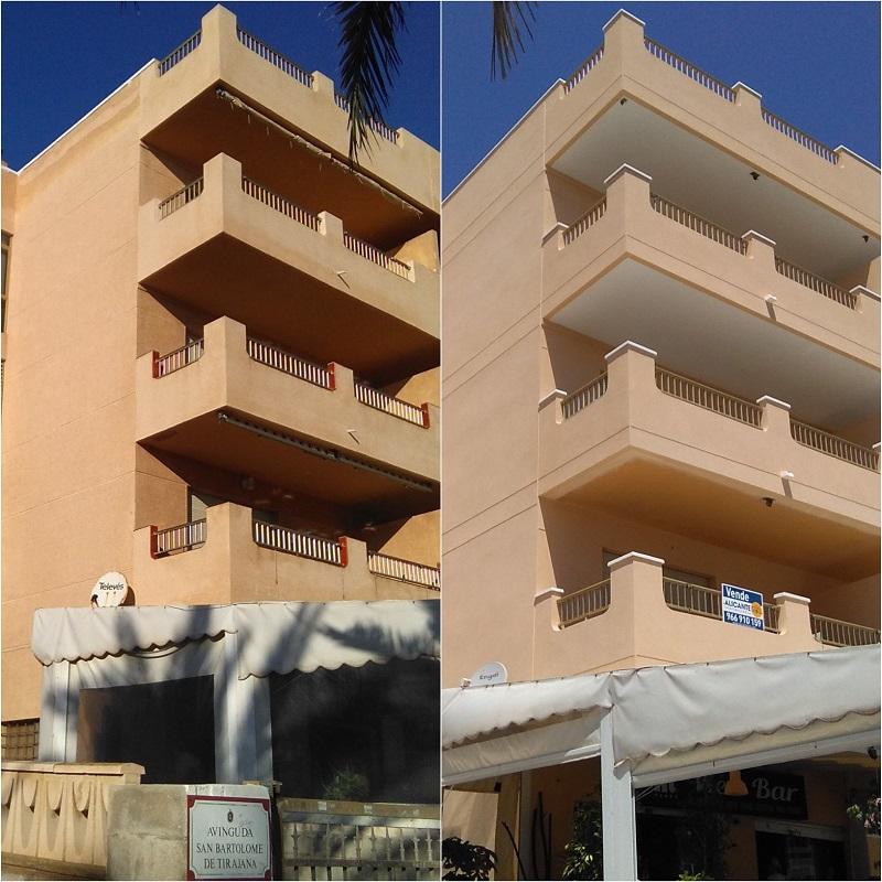 El edificio Acuario de Arenales del Sol también está entre las obras de rehabilitación en Alicante de Grupo BDI