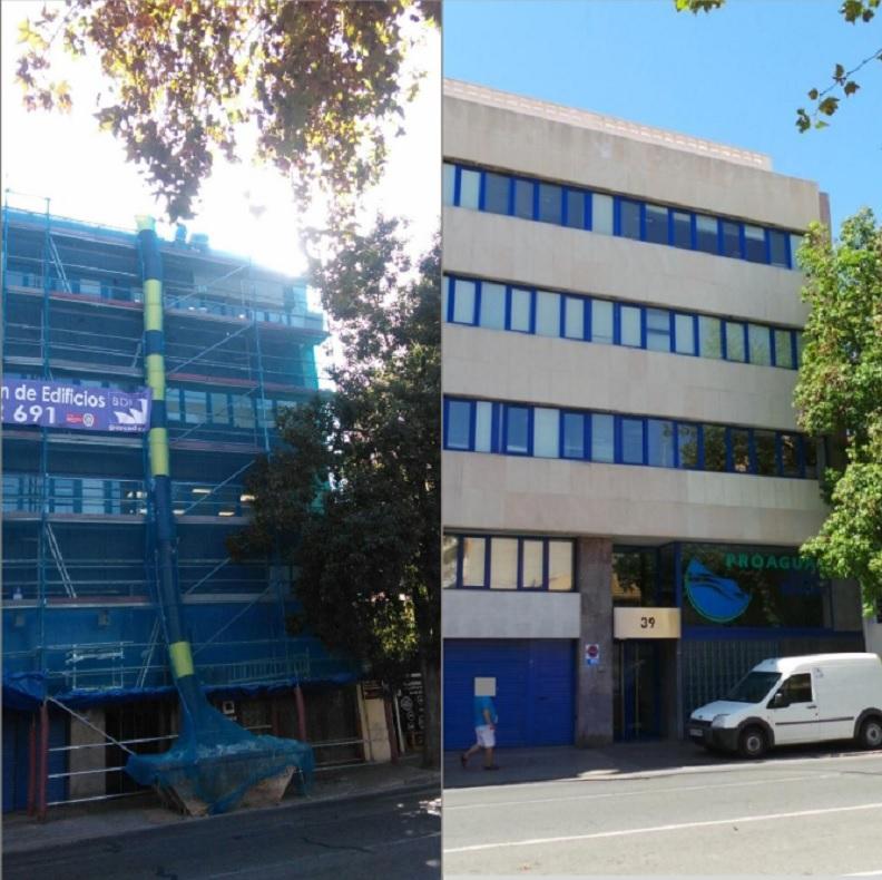 Grupo BDI ha sido noticia por la rehabilitación de Proaguas: este es el antes y el después