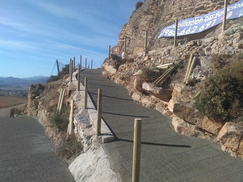 accesos castillo busot