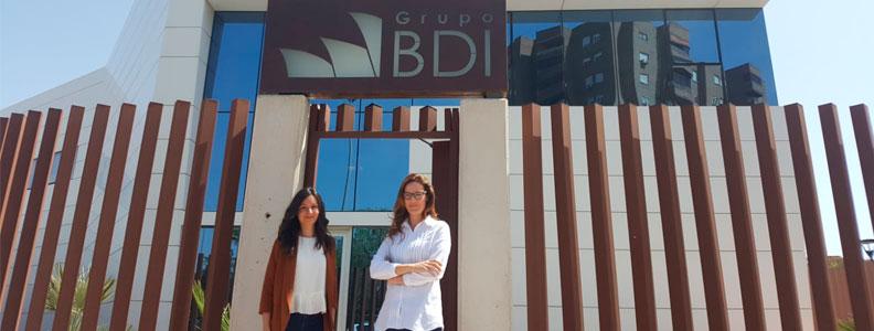 Laura y Davinia, del departamento de Estudios de Grupo BDI