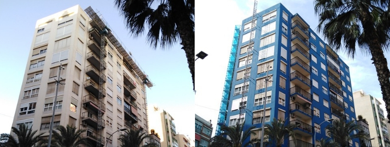 Avenida Salamanca de Alicante